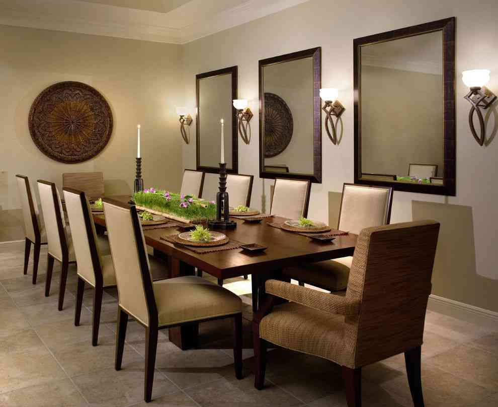 29+ Best Dining Room Wall Decor Ideas 2018 (Modern ... on Dining Room Sconce Idea id=65720