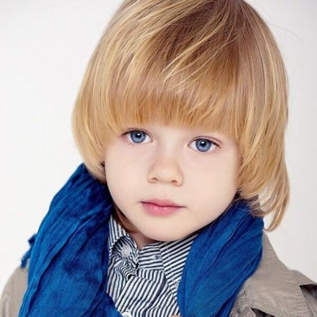16. Bowl Cut For Kids Hairstyles Boy go school -Harptimes.com