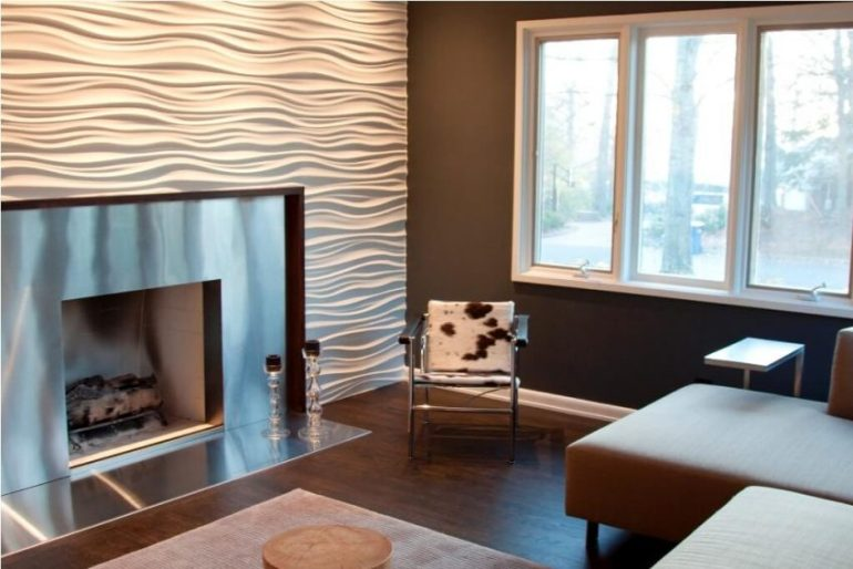 Accent Wall Ideas with Fireplace It is All about Texture - Harptimes.com