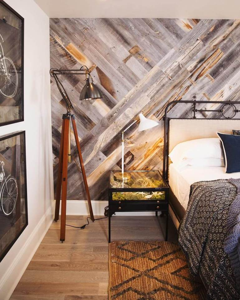 Brick Accent Wall Ideas - Get the Charm of Whitewash Woods - Harptimes.com