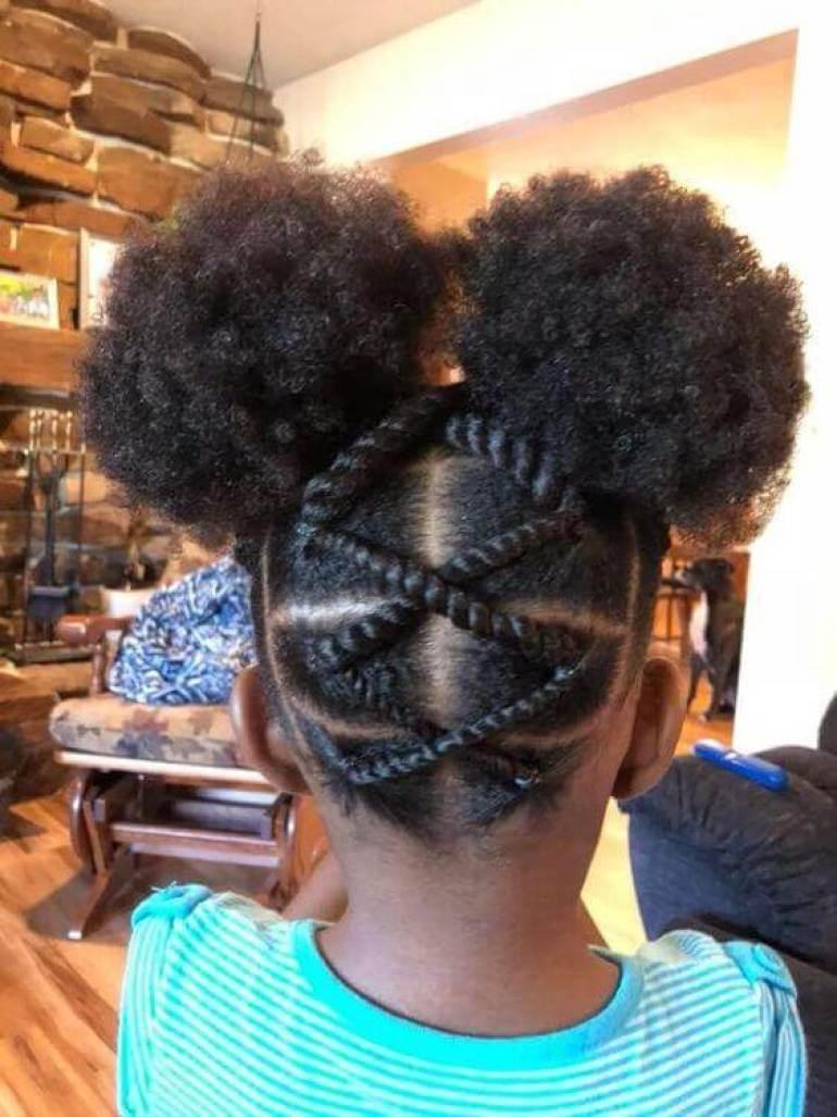 Mills Hairstyles Kids braided hairstyles Black