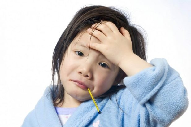 how to tell if you have a fever - What If Your Children Have A Fever - Harptimes.com