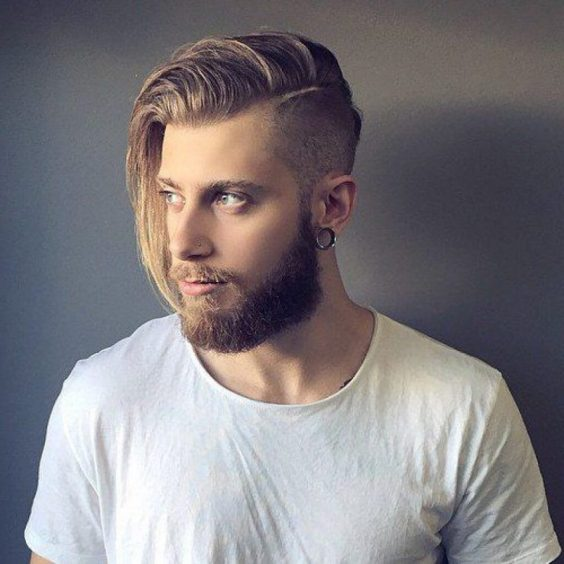Long Hairstyles for Men - Long Undercut Hairstyle - Harptimes.com