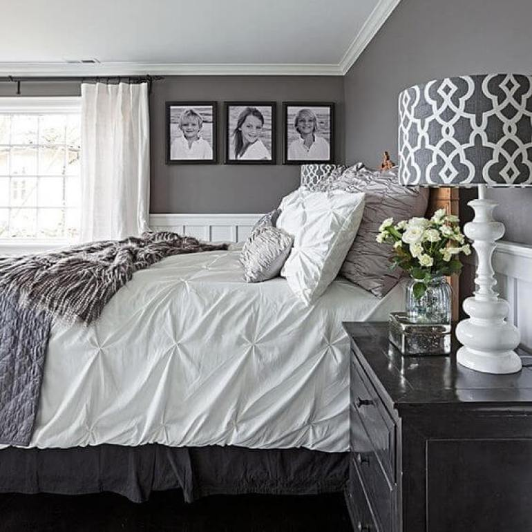 master bedroom ideas pinterest - 15. Fresh Neutral Master Bedroom Design - Harptimes.com