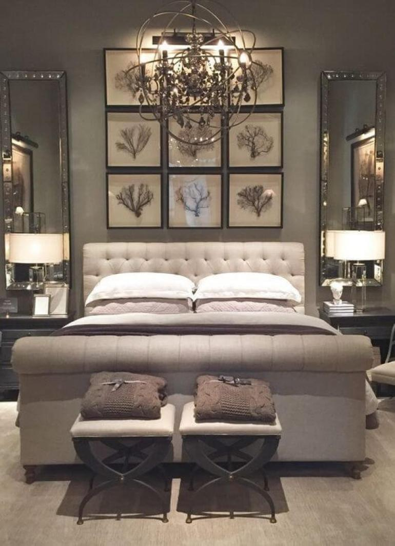 master bedroom ideas pinterest - 25. Antique Decor for Master Bedroom - Harptimes.com