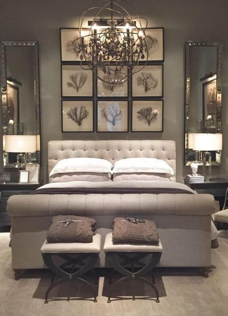 master bedroom ideas pinterest - 25. Antique Decor for Master Bedroom - Harptimes.com