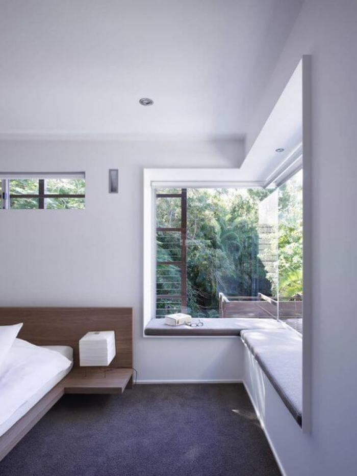 6. An Open Window Seating for Master Bedroom Ideas - Harptimes.com
