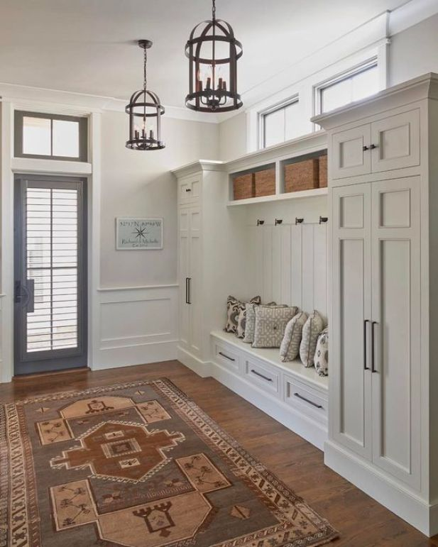 mudroom ideas closet - 25. Simple Mudroom Ideas with Cabinet - Harptimes.com