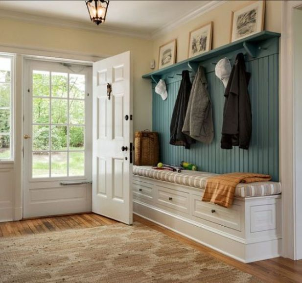 mudroom ideas closet - 6. Large Traditional Mudroom Ideas - Harptimes.com