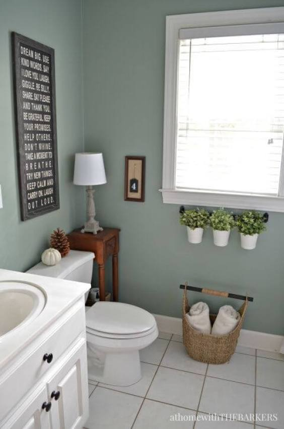 excellent good bathroom paint colors | 27 Cool Bathroom Paint Color Schemes | Best Ideas for 2019
