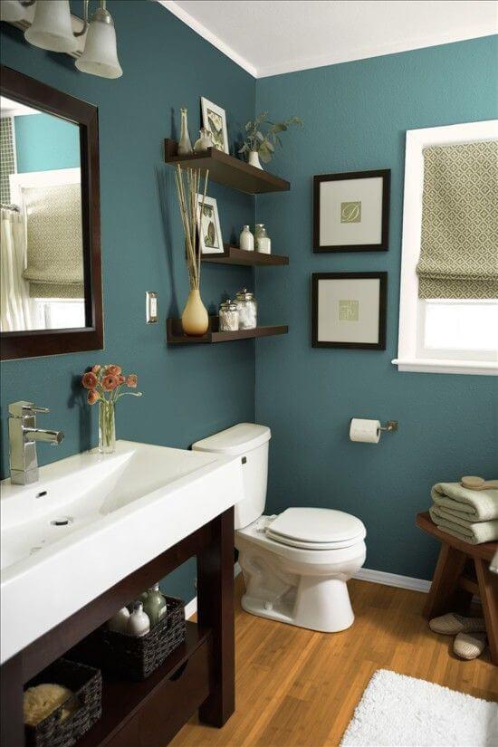 Harp Times & √ 27 Cool Bathroom Paint Color Schemes | Best Ideas for 2019