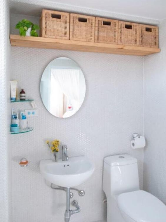 Bathroom Storage Ideas Ceiling Level Storage - Harptimes.com