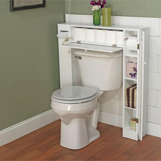 Bathroom Storage Ideas The Toilet Cabinet - Harptimes.com