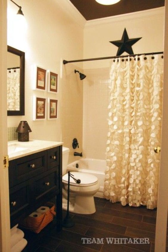 Guest Bathroom Ideas Attractive Shower Curtain for Rustic Bathroom - Harptimes.com