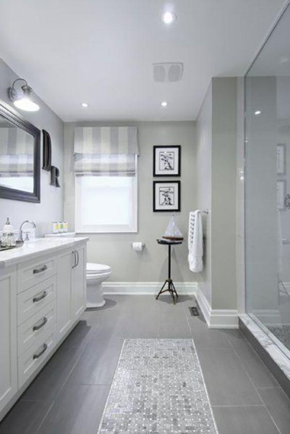 Guest Bathroom Ideas Beautiful Traditional Gray Bathroom - Harptimes.com