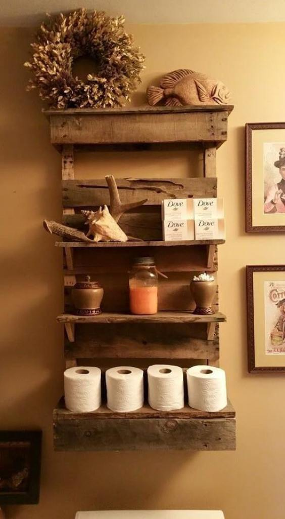 Rustic Bathroom Ideas DIY Rustic Functional Decoration - Harptimes.com