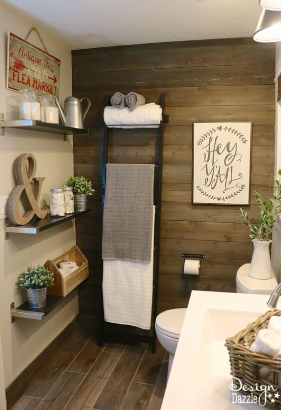 Rustic Bathroom Ideas Modern Decoration for Wooden Bathroom - Harptimes.com