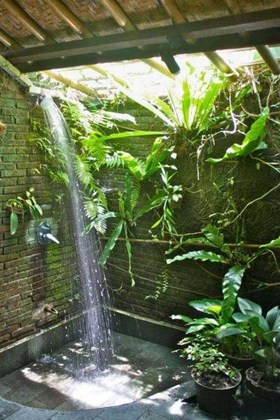 Outdoor Shower Ideas Eco Lodge Shower Design Ideas - Harptimes.com