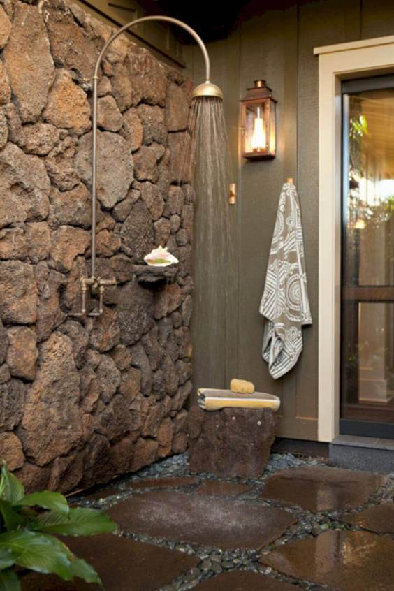 Outdoor Shower Ideas Exclusive Tropical Bathroom Design - Harptimes.com