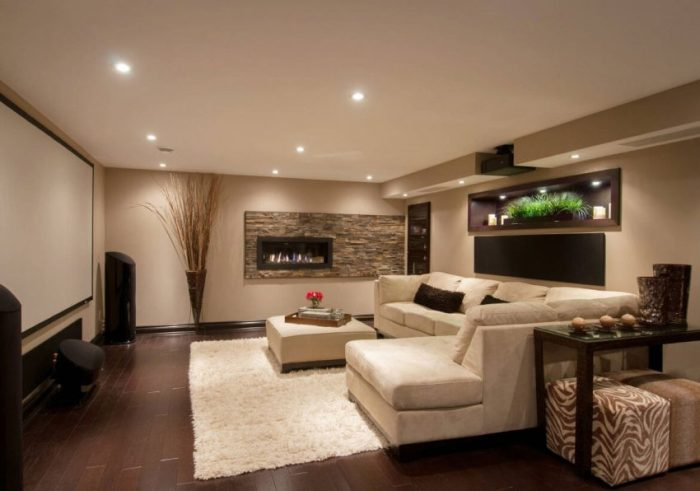 Basement Bedroom Ideas Blend It or Make a Contrast