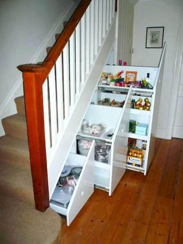 Basement Under Stairs Storage Ideas