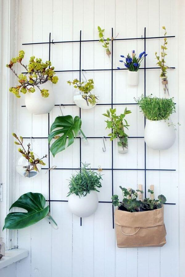 DIY Leaves and Flowers Wall Ideas