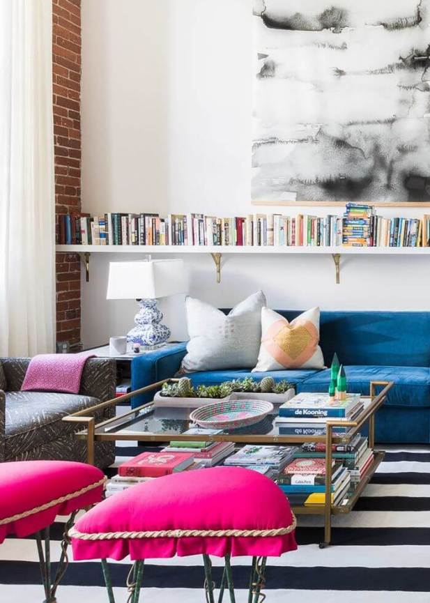 Eclectic Modern Living Room Ideas with Striking Statements