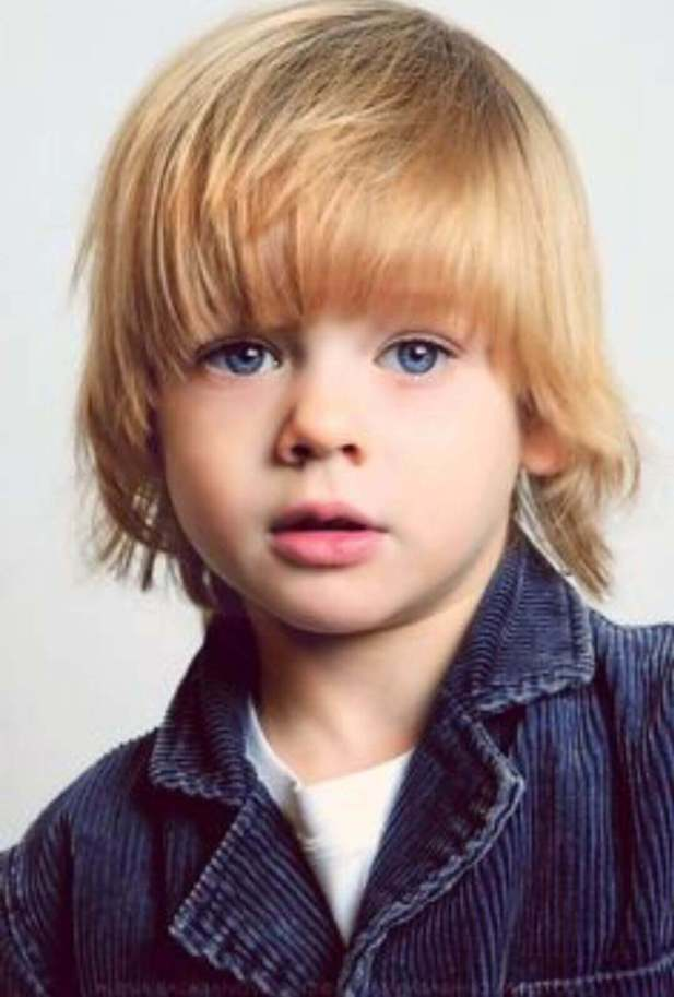 Fringe Hairstyle for Baby Boy