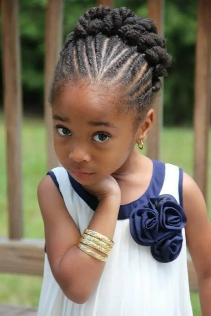 Little Black Girl Hairstyles for School