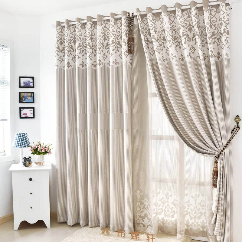 Simple Curtains for Living Room Window Ideas