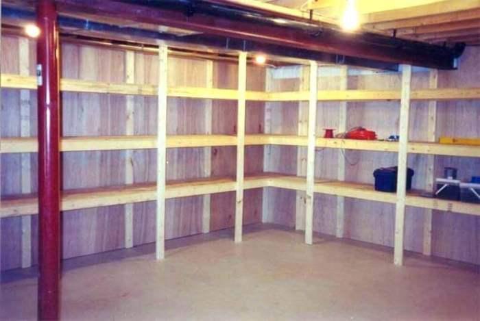 Unfinished Basement Storage Ideas Photos Ikea On a budget