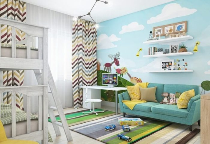 Wall Ideas for Kids Room