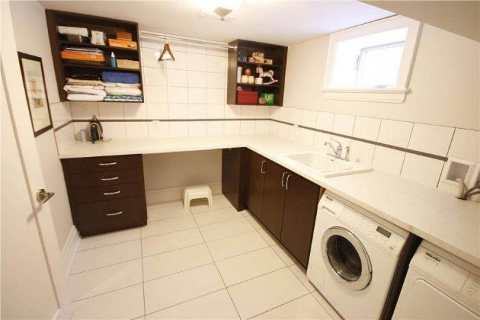 Basement Finishing Ideas for Laundry Room