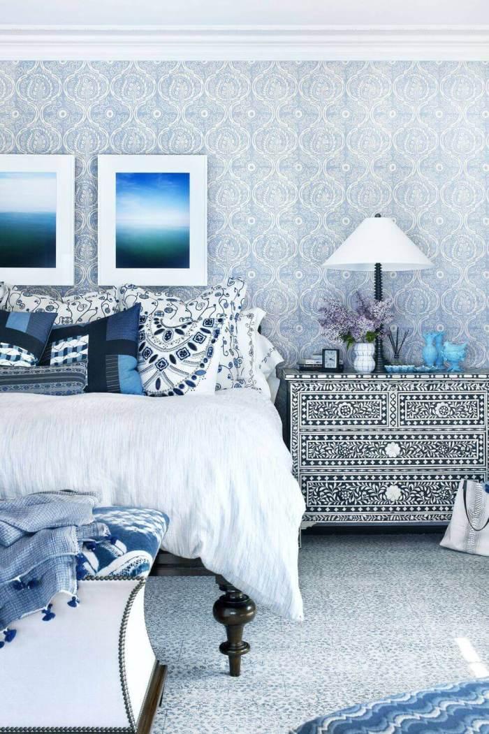 Master Bedroom Ideas Do Pattern on Pattern
