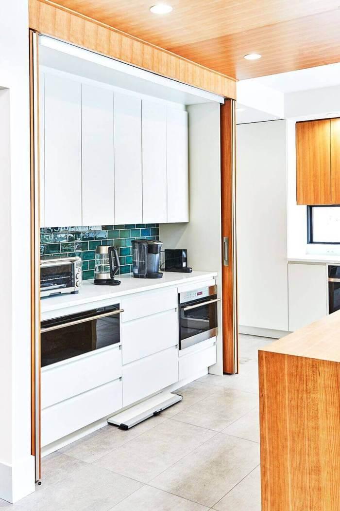 Smart Kitchen Storage Ideas Pinterest Conceal a Work Space