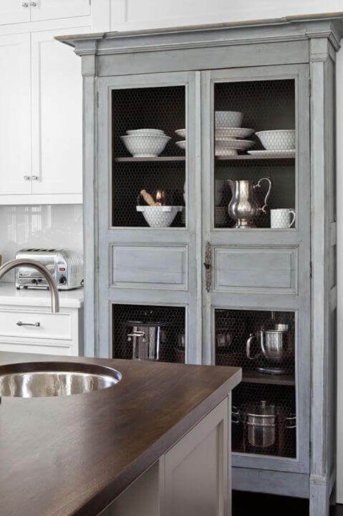 tiny Kitchen Storage Ideas 31 Add An Antique