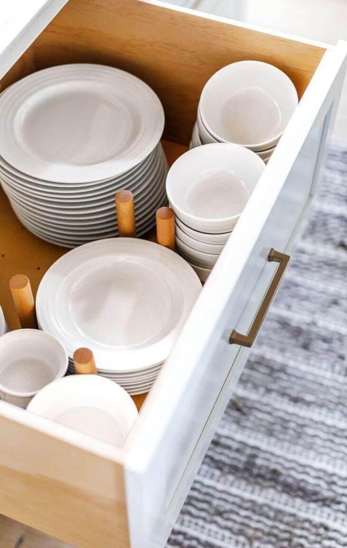 Clever Kitchen Storage Ideas pinterest Add A Crockery Drawer