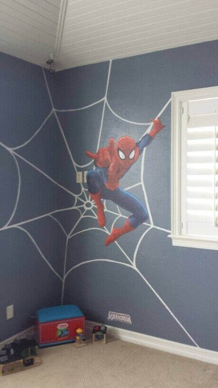 Boys Bedroom Ideas A True Spiderman Lover - Harptimes.com