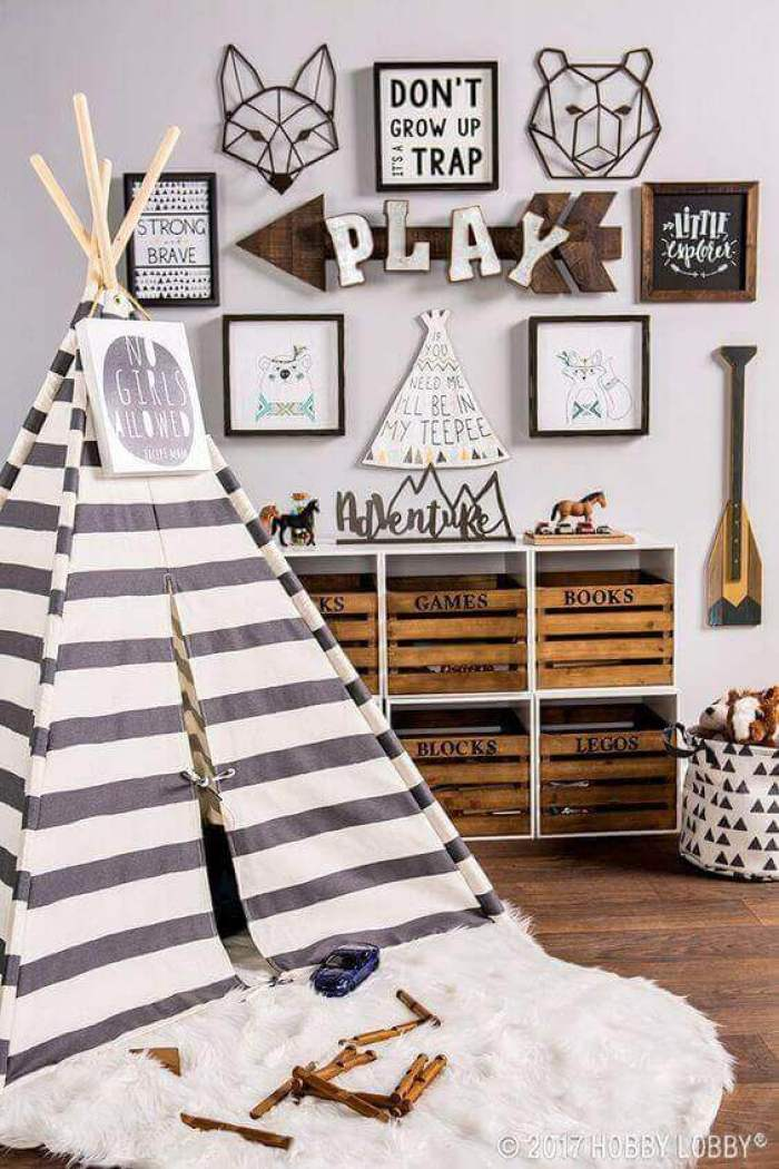 Boys Bedroom Ideas Go Camping - Harptimes.com