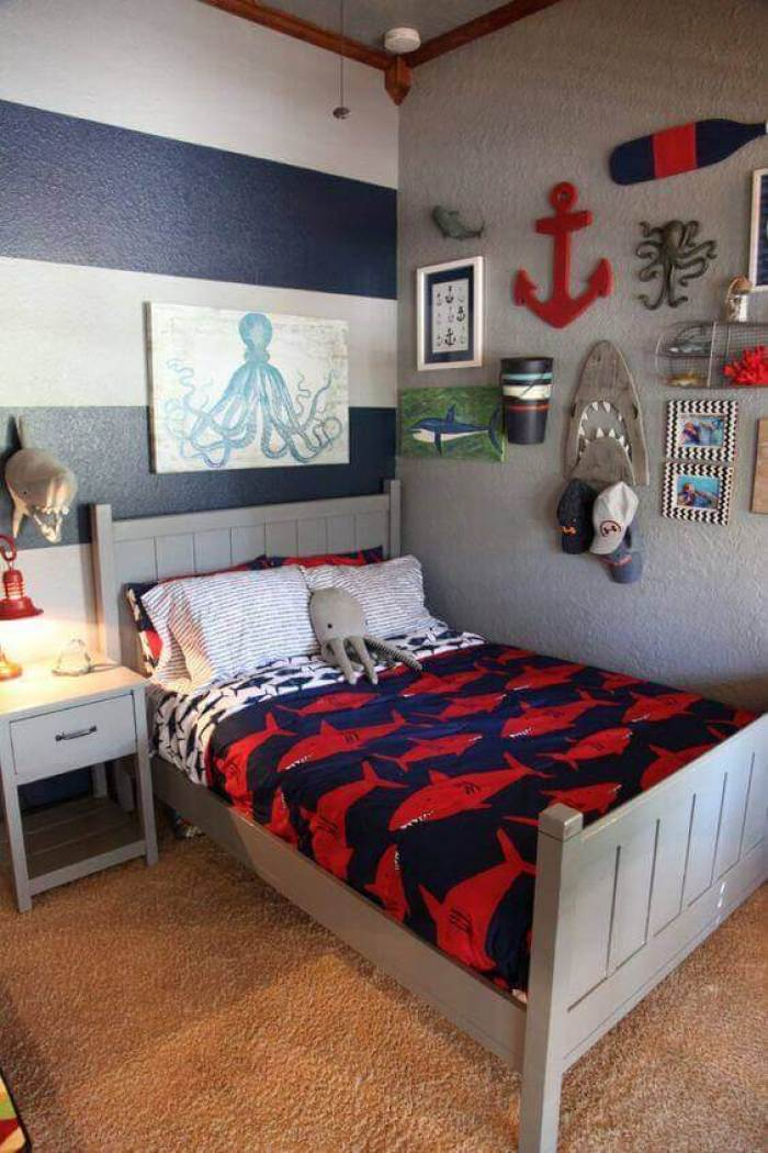 Boys Bedroom Ideas Maritime Feel - Harptimes.com