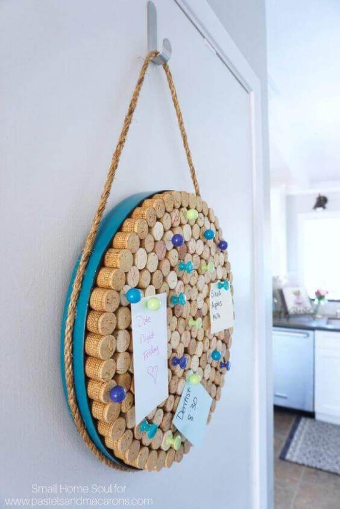 Cork Board Ideas Epic Round Cork Board - Harptimes.com