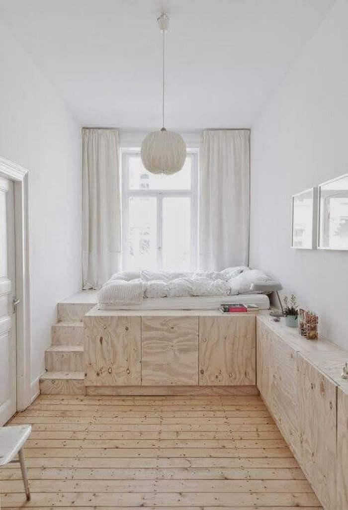 Decorating Small Bedroom Ideas in Window Area - Harptimes.com