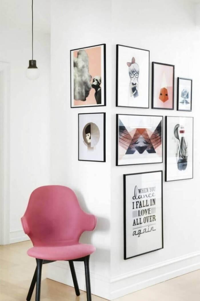 Corner Wall Gallery Ideas