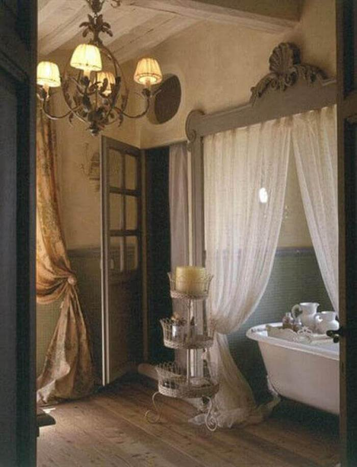 French Country Decor It's Bath Time - Harptimes.com