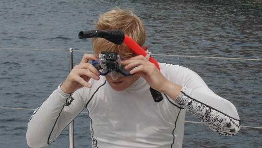 GoPro-tauchen-Taucherbrille-Halterung