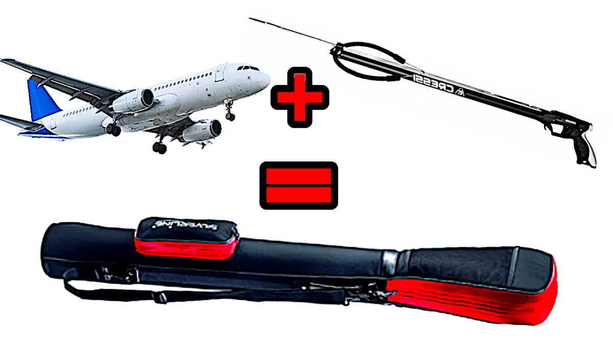 How to fly with your Speargun in an Airplane - the solution