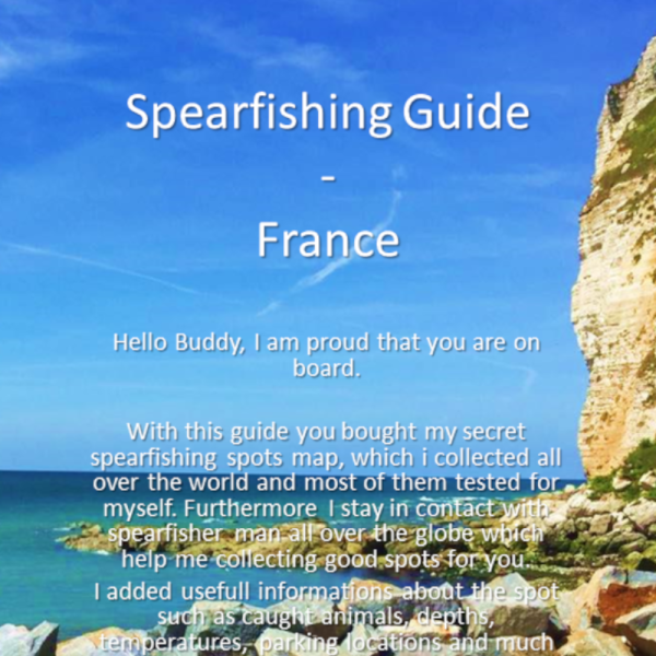 Spearfishing Frankreich France Calais Atlantic Mittelmeer Mediterranean Maps Guide Tutorial Spots Harpunieren Speargun GER