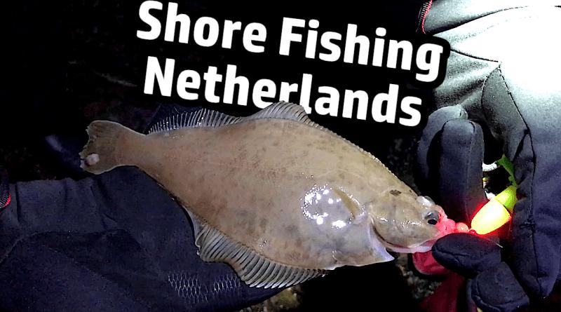 Shore Fishing Netherlands Niederlande Brandungsangeln Brandung angeln fishing Plattfisch Kliesche Flunder Flatfish