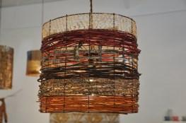 Rustic Striped Drum