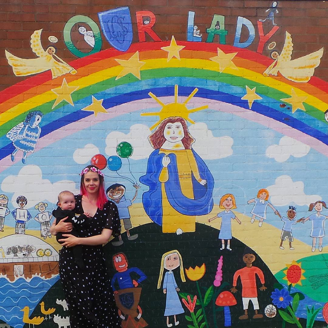 Harriet Muncaster at Our Lady's Primary school Hitchin